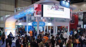 Foto do estande da VAGAS.com no Conarh 2018