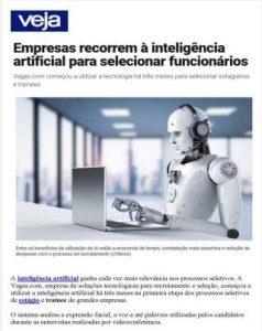matéria sobre inteligência artificial vagas.com